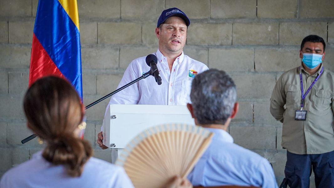 «Sucre ha respondido rápidamente para el fortalecimiento del sector salud», vicepresidenta